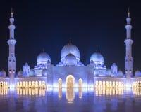De Grote Moskee van Zayed van de sjeik Royalty-vrije Stock Foto's