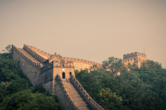 De Grote Muur Royalty-vrije Stock Afbeeldingen