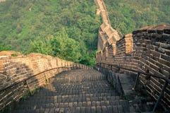 De grote Muur Stock Afbeeldingen
