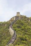 De grote Muur in China royalty-vrije stock afbeelding