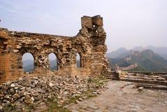 De grote muur, China Stock Afbeeldingen