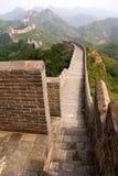 De grote muur, China Royalty-vrije Stock Afbeelding
