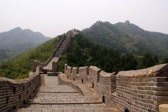 De grote muur, China Royalty-vrije Stock Afbeeldingen