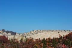 de grote muur in China Stock Afbeelding