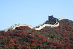 De grote Muur in China Stock Afbeeldingen