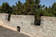 De Grote Muur de muur Stock Foto