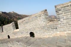 De Grote Muur de muur Royalty-vrije Stock Afbeelding