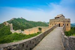 De grote Muur, Peking, China royalty-vrije stock afbeeldingen