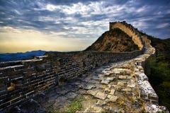 De grote muur van China Royalty-vrije Stock Fotografie