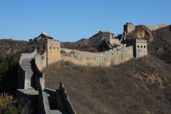 De grote Muur van China Stock Afbeelding