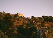 De grote Muur van China stock fotografie