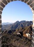 De grote Muur van China royalty-vrije stock afbeeldingen