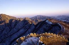 De grote muur van China Royalty-vrije Stock Foto