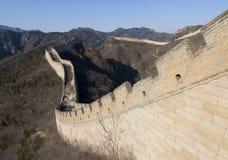 De grote Muur van China III Stock Afbeeldingen