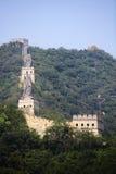 De Grote Muur van China in Mutianyu Stock Fotografie