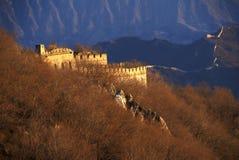 De Grote Muur van Jiankou Royalty-vrije Stock Afbeeldingen