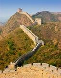 De Grote Muur van Jinshanling Royalty-vrije Stock Afbeeldingen