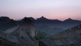 De Grote Muur van Jinshanling Royalty-vrije Stock Foto's