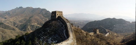 De Grote Muur van Si Ma Tai Stock Foto