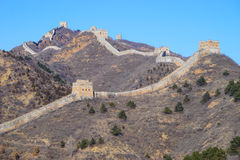 De Grote Muur van Simatai Royalty-vrije Stock Fotografie