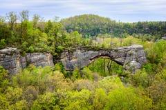 De grote Nationale Rivier van South Fork en Recreatiegebied Royalty-vrije Stock Foto