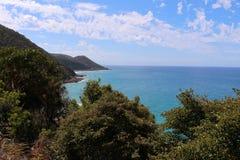 De Grote Oceaanweg - Australië Stock Foto's