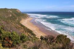 De Grote Oceaanweg - Australië Royalty-vrije Stock Foto