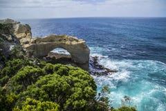 De Grote Oceaanweg van reisaustralië stock foto