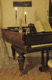 De grote piano Royalty-vrije Stock Foto's
