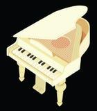 De grote piano van het stuk speelgoed Royalty-vrije Stock Afbeelding