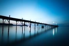 De grote Pier van Boedha in Koh Samui Royalty-vrije Stock Afbeeldingen