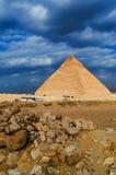 De grote Piramide Stock Afbeelding