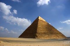 De grote Piramide van Cheops in Giza Stock Fotografie