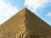 De grote Piramide van Giza Royalty-vrije Stock Foto