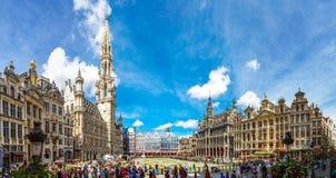 De grote Plaats in Brussel royalty-vrije stock afbeelding