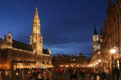 De Grote Plaats van Brussel Royalty-vrije Stock Afbeeldingen
