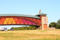 De grote Platte Overwelfde galerij Nebraska van de Rivierweg Royalty-vrije Stock Fotografie