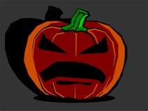 De grote pompoen van Halloween Royalty-vrije Stock Afbeeldingen