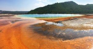 De grote Prismatische Hete Lente in Yellowstone stock fotografie