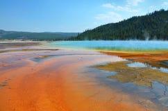 De grote Prismatische Hete Lente in Yellowstone royalty-vrije stock foto