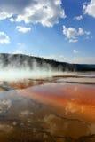 De Grote Prismatische Lente van Yellowstone Stock Afbeelding