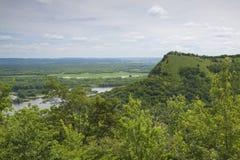 De grote Rivier Bluffs overziet Royalty-vrije Stock Afbeelding