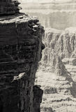 De grote rotsen van de Canion Royalty-vrije Stock Afbeeldingen