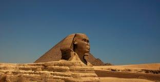De grote Sfinx van Giza 2 Stock Fotografie