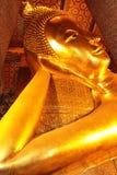 De grote Slaap van Boedha in Wat Pho Thailand Stock Foto's