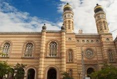 De grote Synagoge van Boedapest (Hongarije) Royalty-vrije Stock Afbeeldingen