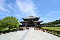De grote tempel van Japan Stock Afbeeldingen