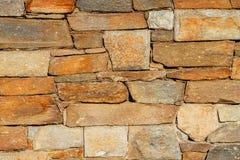De grote textuur van de steenmuur Royalty-vrije Stock Fotografie