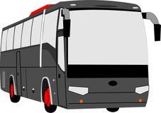 De grote vectorillustratie van de reisbus vector illustratie
