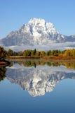 De grote Waaier van Tetons Mountian stock foto